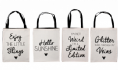 50% off AbFab Canvas Shopping Tote
